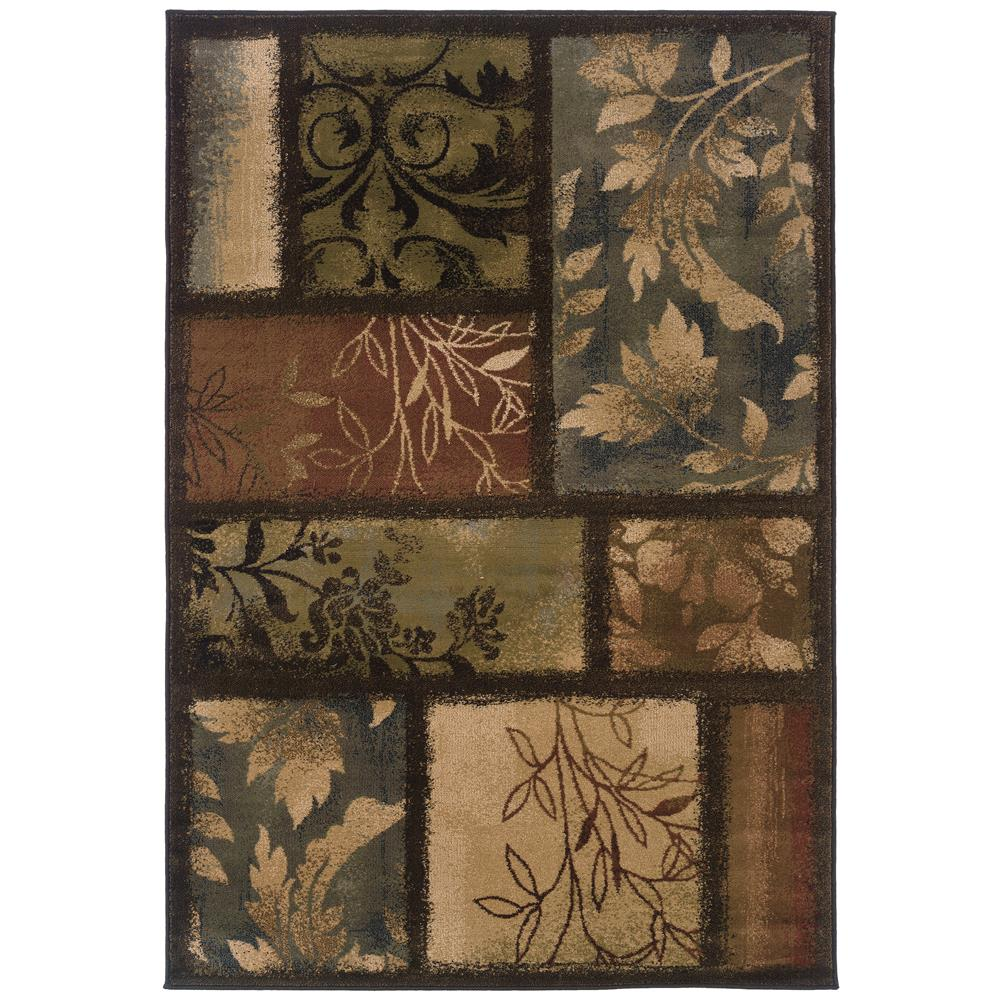Oriental Weavers 1699G Hudson Brown 1.10 X  3. 3 Area Rug