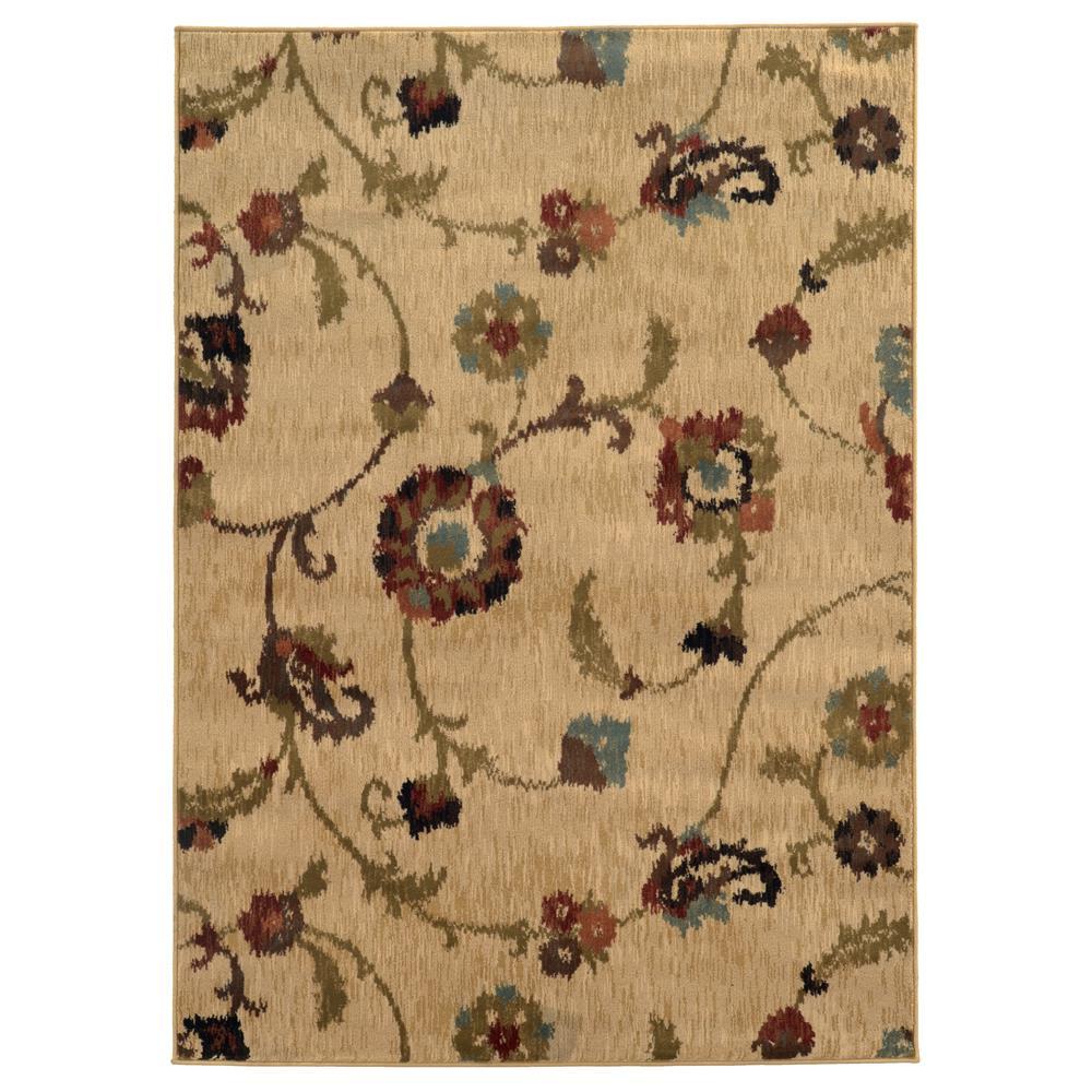Oriental Weavers 4887B Hudson Gold 1.10 X  3. 3 Area Rug