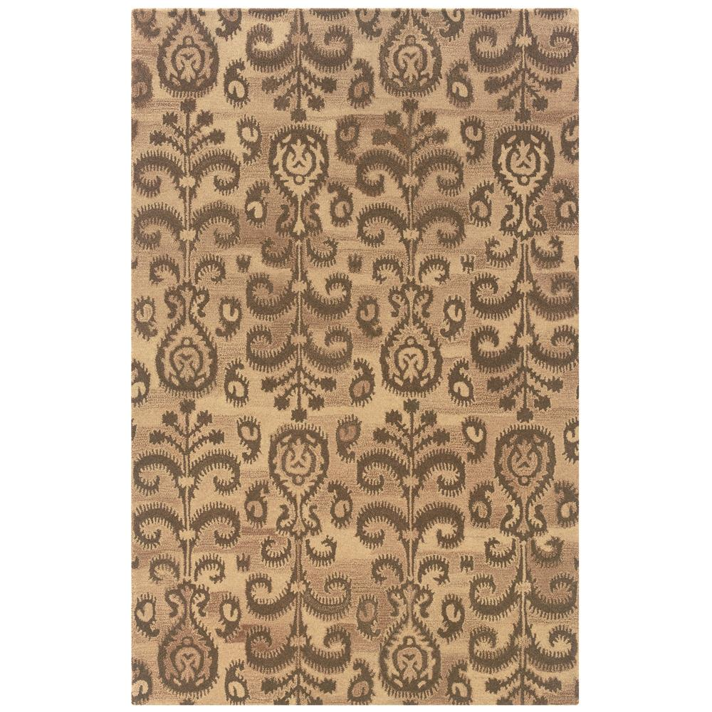Oriental Weavers Sphinx 68002-2'6X8' Anastasia Beige/ Brown Area Rug