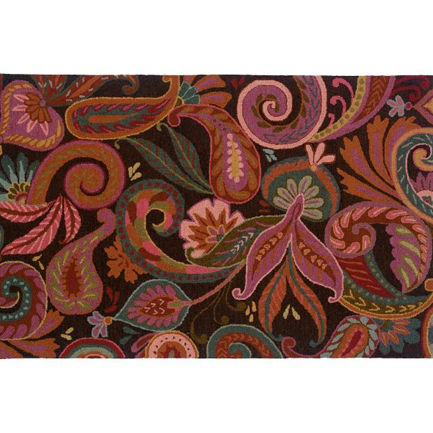 Oriental Weavers Sphinx 87103-2'6X8' Eden Brown/ Purple Area Rug