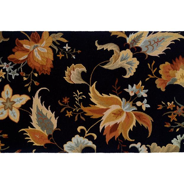 Oriental Weavers Sphinx 87106-2'6X8' Eden Black/ Gold Area Rug