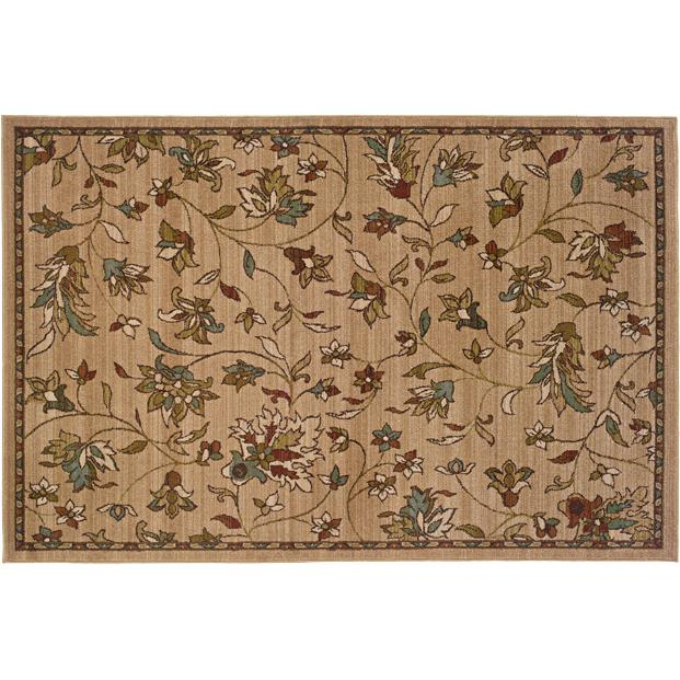 Oriental Weavers Sphinx 1994A-1'10X3'3 Emerson Gold/ Brown Area Rug
