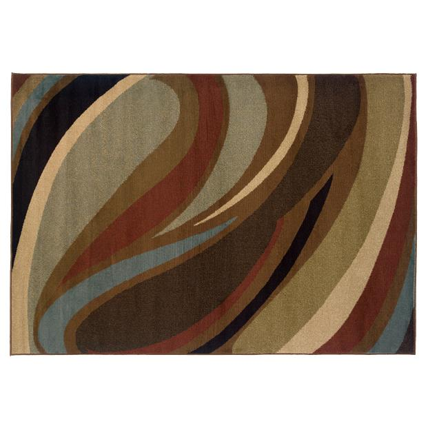 Oriental Weavers Sphinx 2666F-1'10X3'3 Hudson Brown/ Brown Area Rug