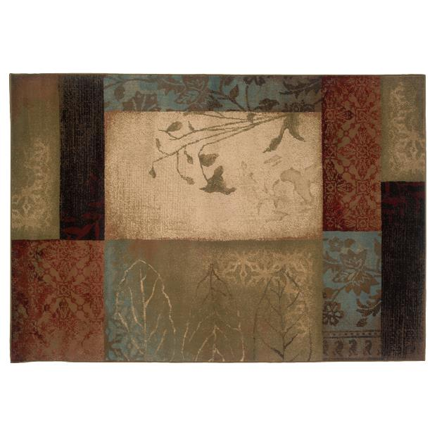 Oriental Weavers Sphinx 040A1-1'10X3'3 Hudson Beige/ Green Area Rug