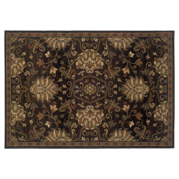 Oriental Weavers Sphinx 042G1-1'10X3'3 Hudson Brown/ Beige Area Rug