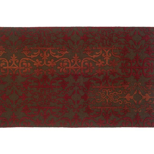Oriental Weavers Sphinx 18101-2'6X8' Ventura Brown/ Red Area Rug