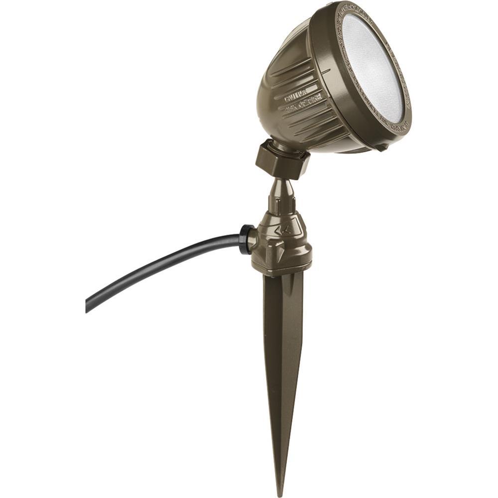 Progress Lighting P6346-2030K Floodlights One-light Flood Light With Spike