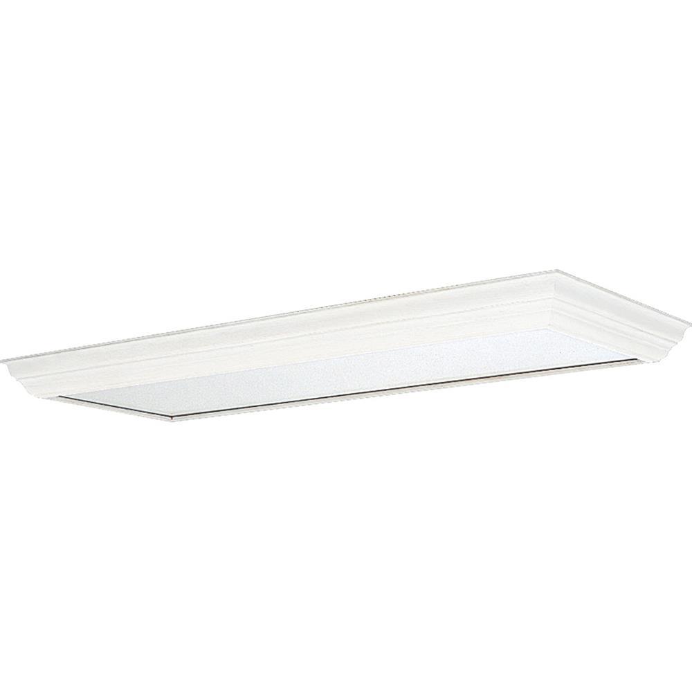 Progress Lighting P7274-30 Modular Fluorescent Acrylic Diffuser in White