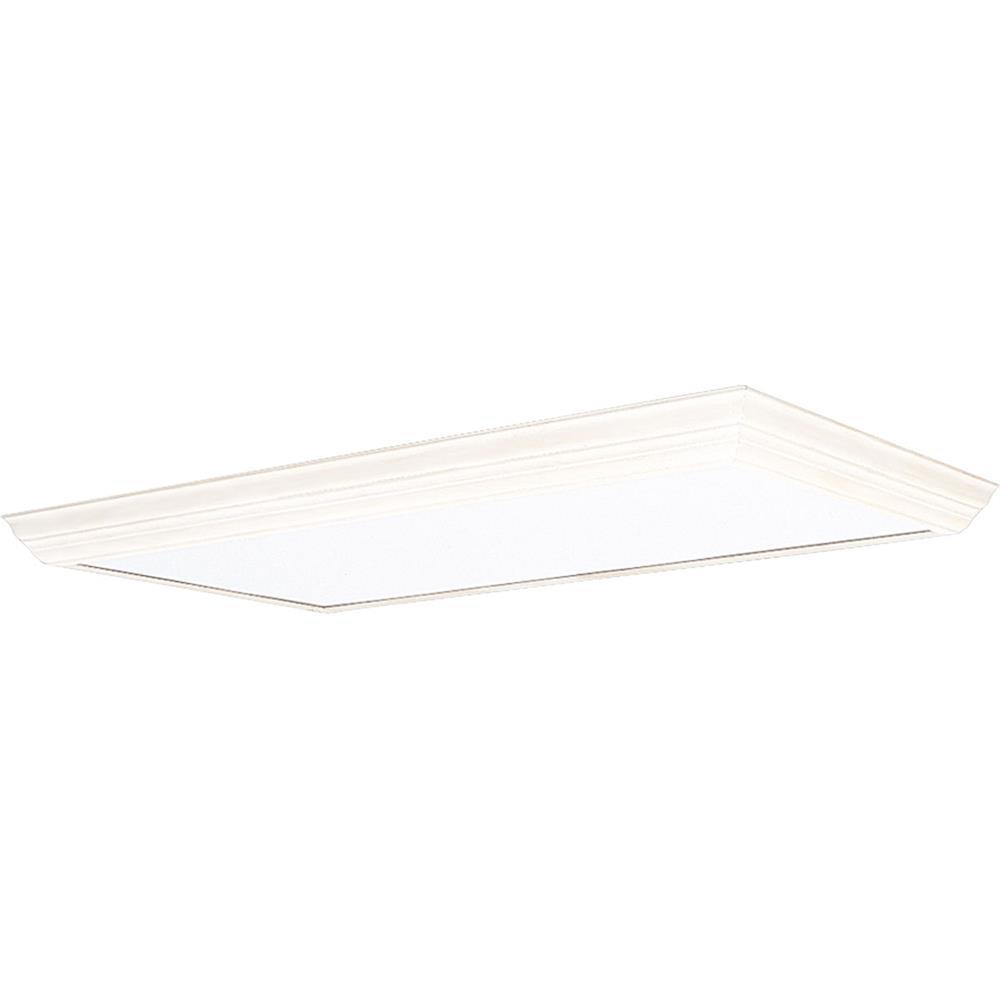 Progress Lighting P7275-30 Modular Fluorescent Acrylic Diffuser in White