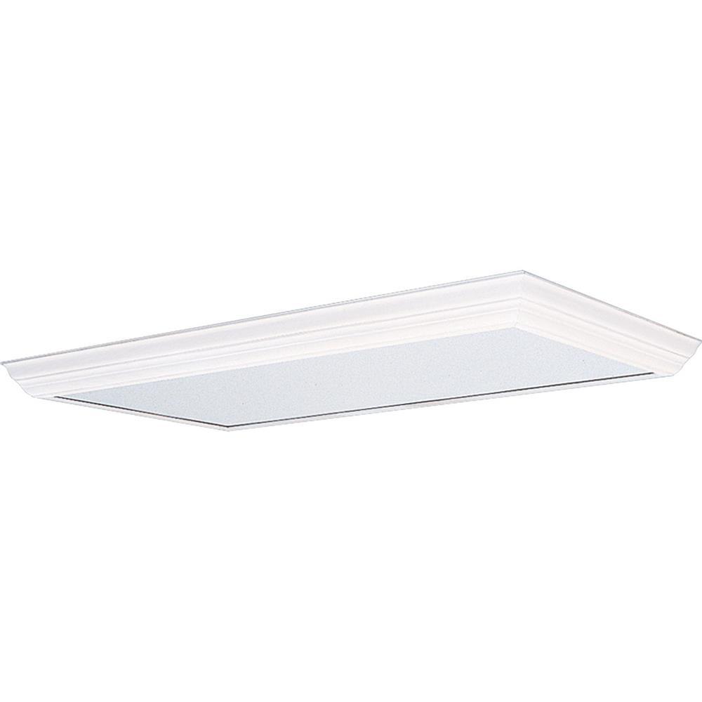 Progress Lighting P7276-30 Modular Fluorescent Acrylic Diffuser in White