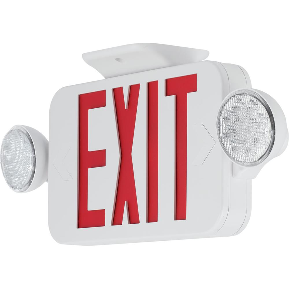 Progress Lighting PECUE-UR-30 Exit Signs