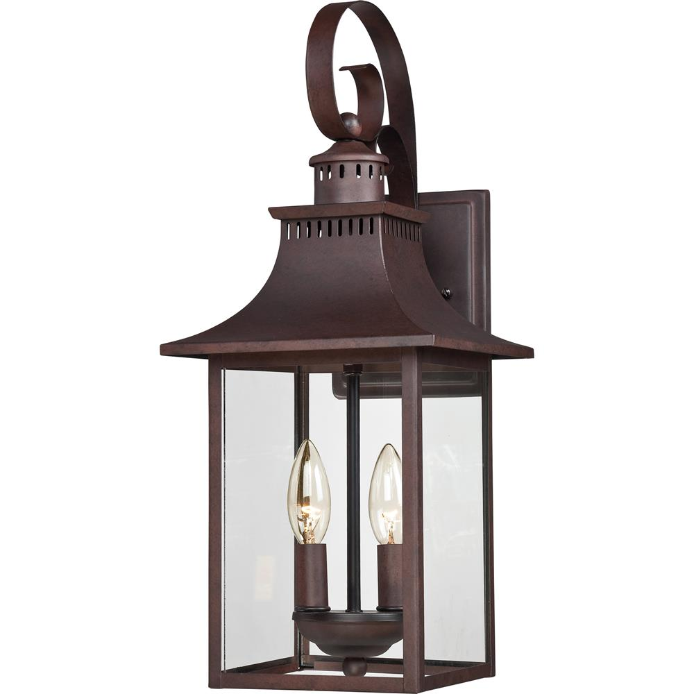 Quoizel Lighting CCR8408CU Chancellor Outdoor Fixture in Copper Bronze