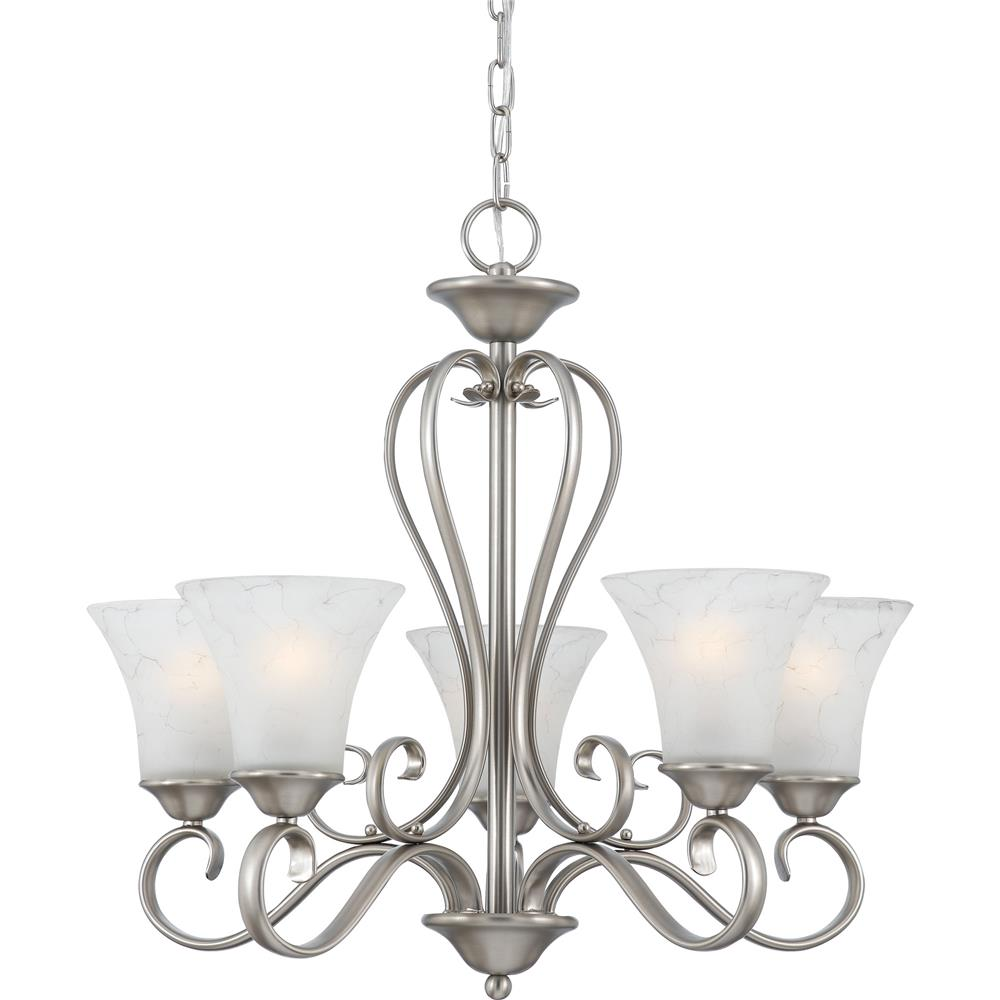 Quoizel Lighting DH5005AN Duchess Chandelier in Antique Nickel