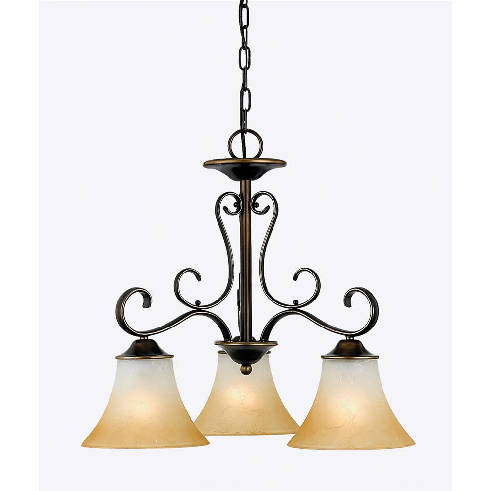 Quoizel Lighting DH5103PN Duchess Chandelier in Palladian Bronze