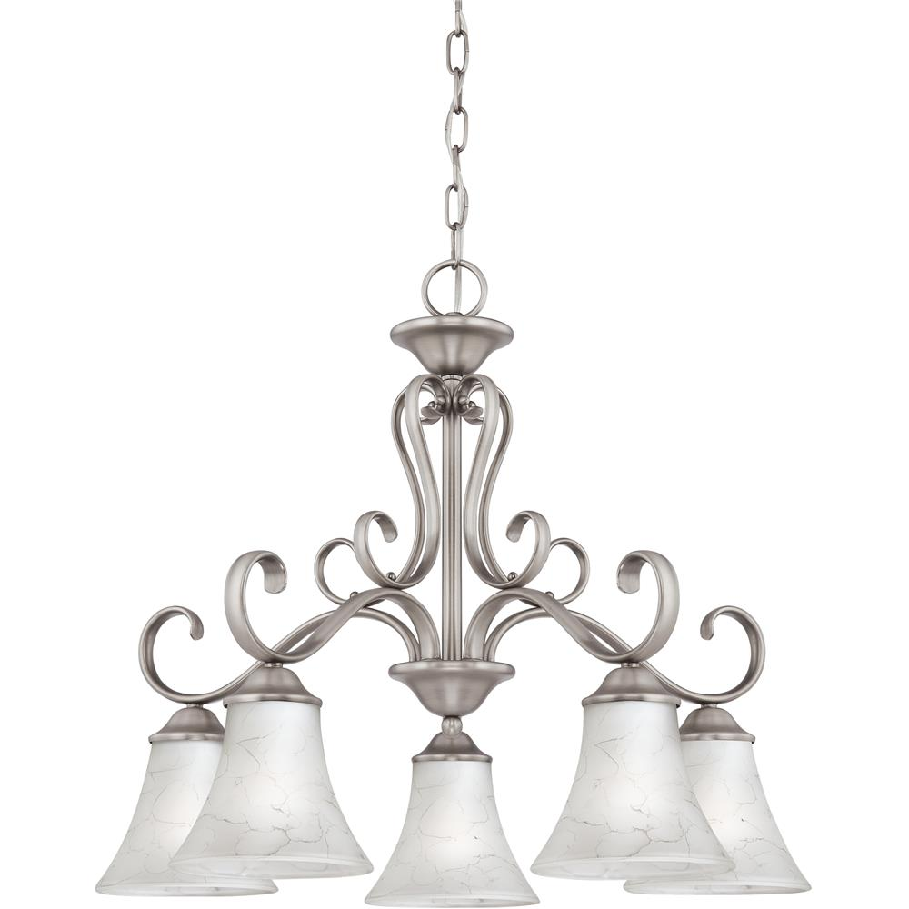 Quoizel Lighting DH5105AN Duchess Chandelier in Antique Nickel