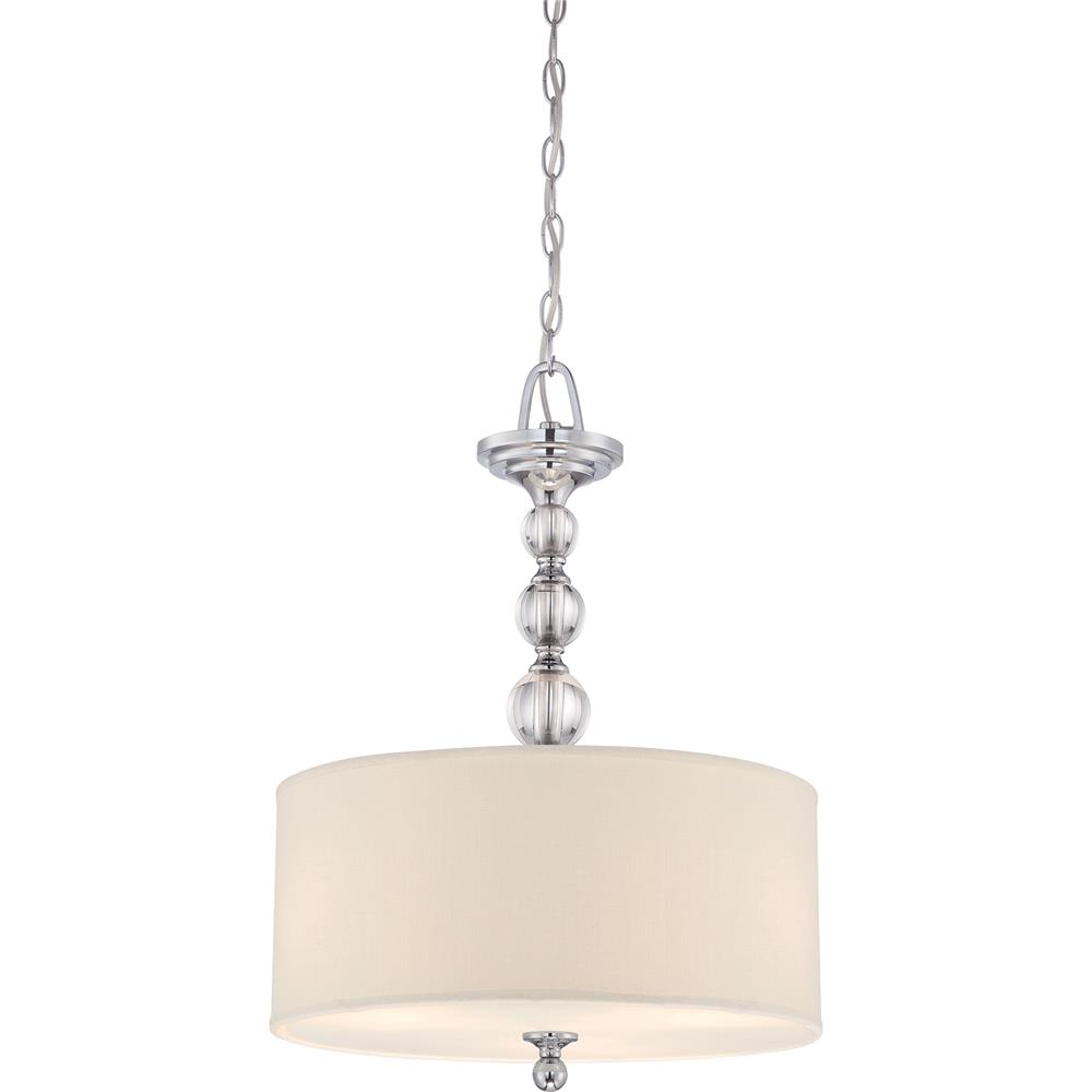 Quoizel Lighting DW2817C Downtown Pendant in Polished Chrome