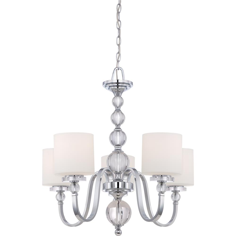 Quoizel Lighting DW5005C Downtown Chandelier in Polished Chrome