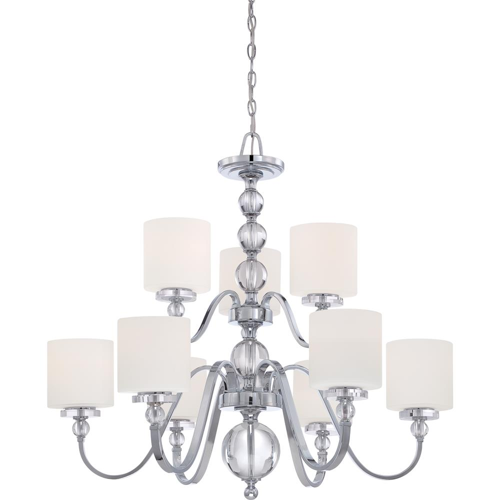 Quoizel Lighting DW5009C Downtown Chandelier in Polished Chrome