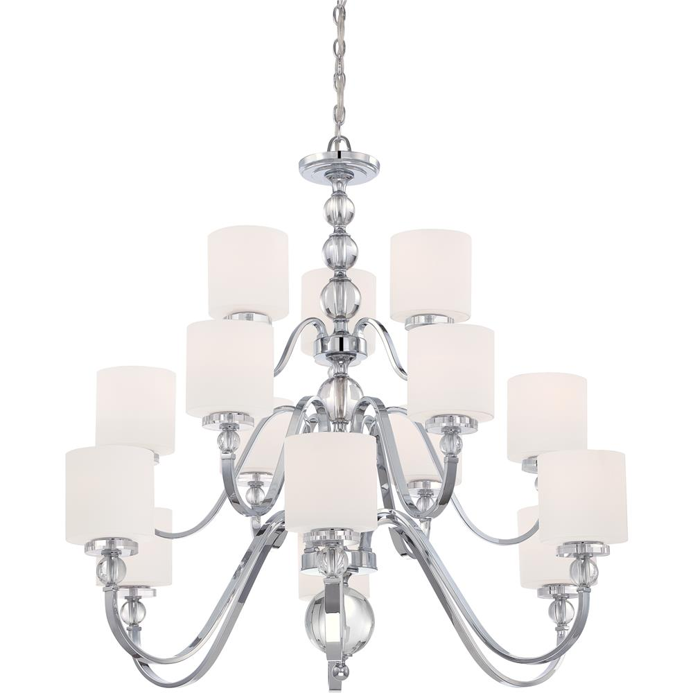 Quoizel Lighting DW5015C Downtown Chandelier in Polished Chrome