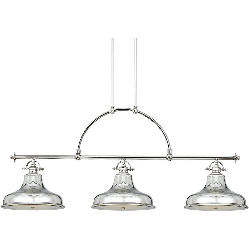 Quoizel Lighting ER353IS Emery Island Light in Imperial Silver