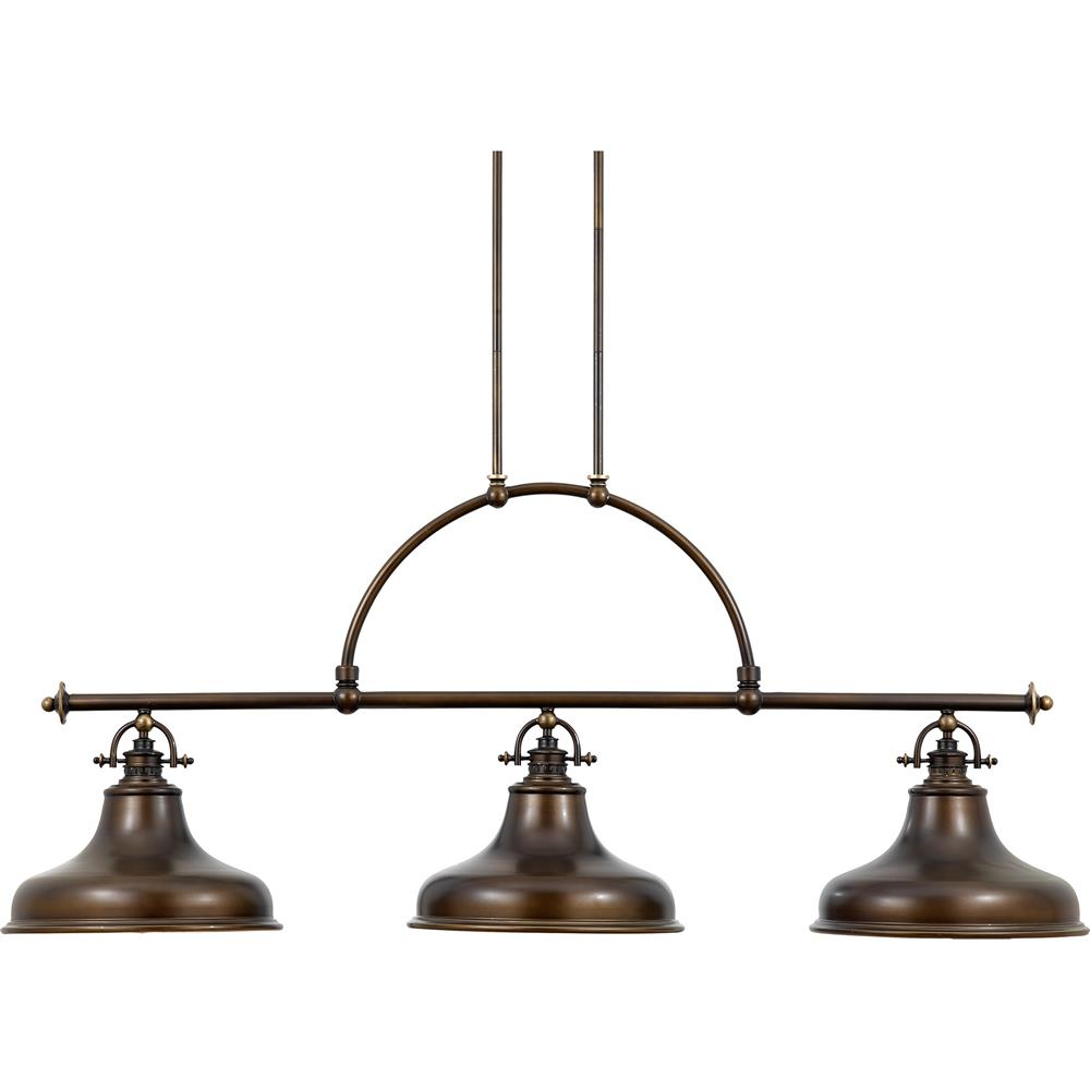 Quoizel Lighting ER353PN Emery Island Light in Palladian Bronze