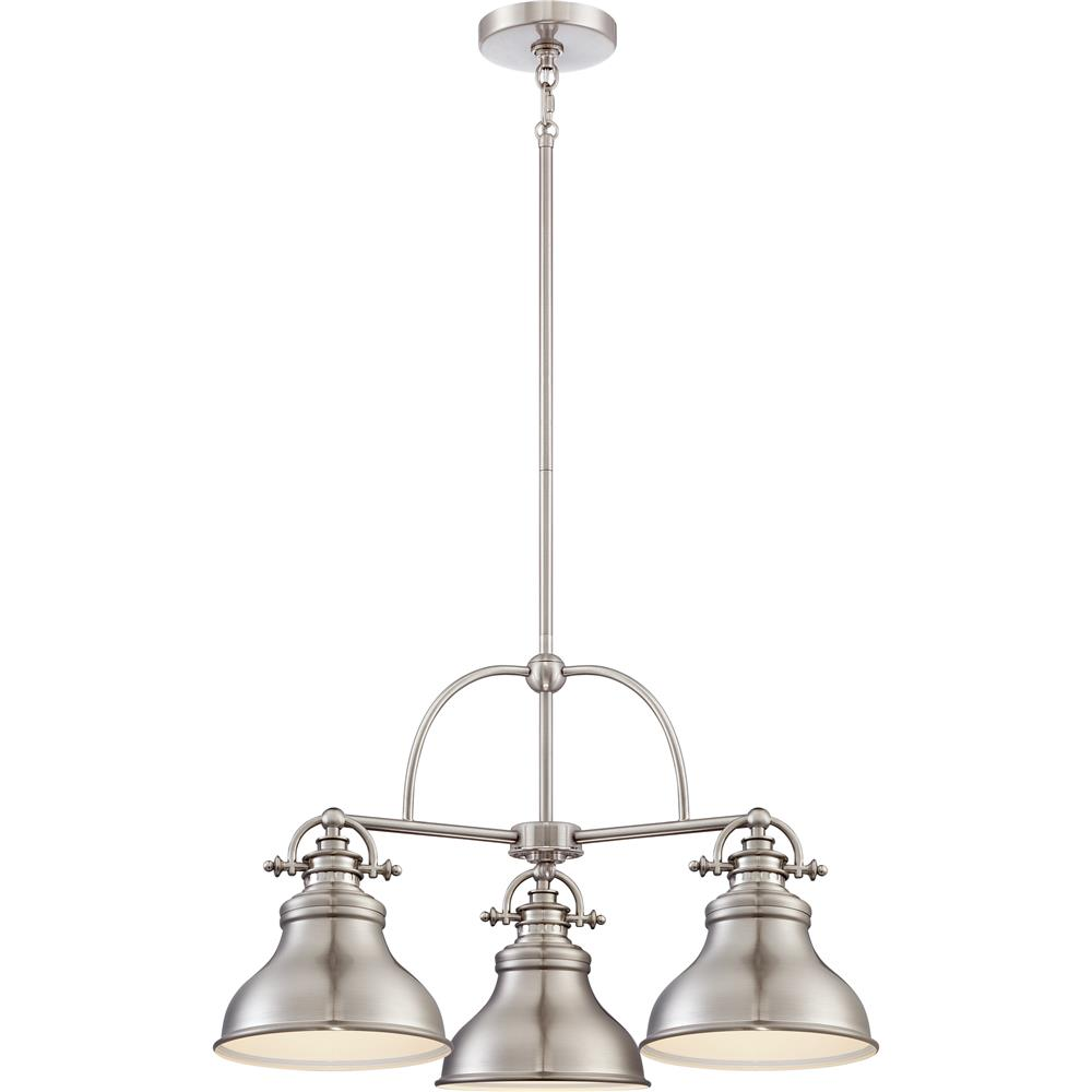 Nickel Pendant Lighting Kitchen Er1508bn Quoizel Lighting Er1508bn 1 Light Emery Mini Pendants