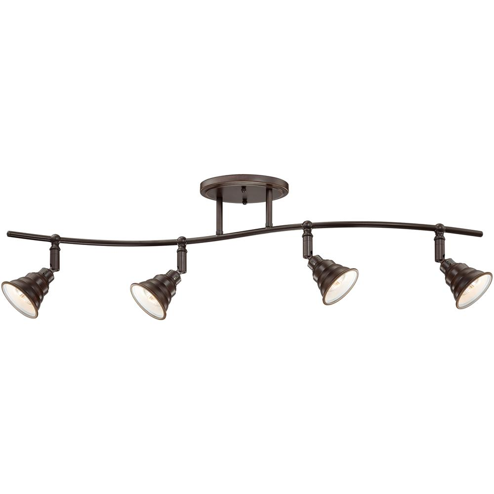 Quoizel Lighting EVE1404PN Eastvale Ceiling Track Light in Palladian Bronze
