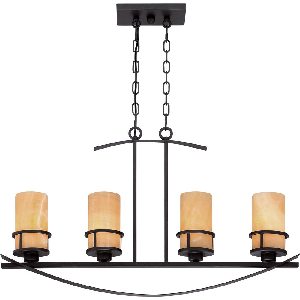 Quoizel Lighting KY433IB 4 Light Kyle Island Light in Imperial Bronze