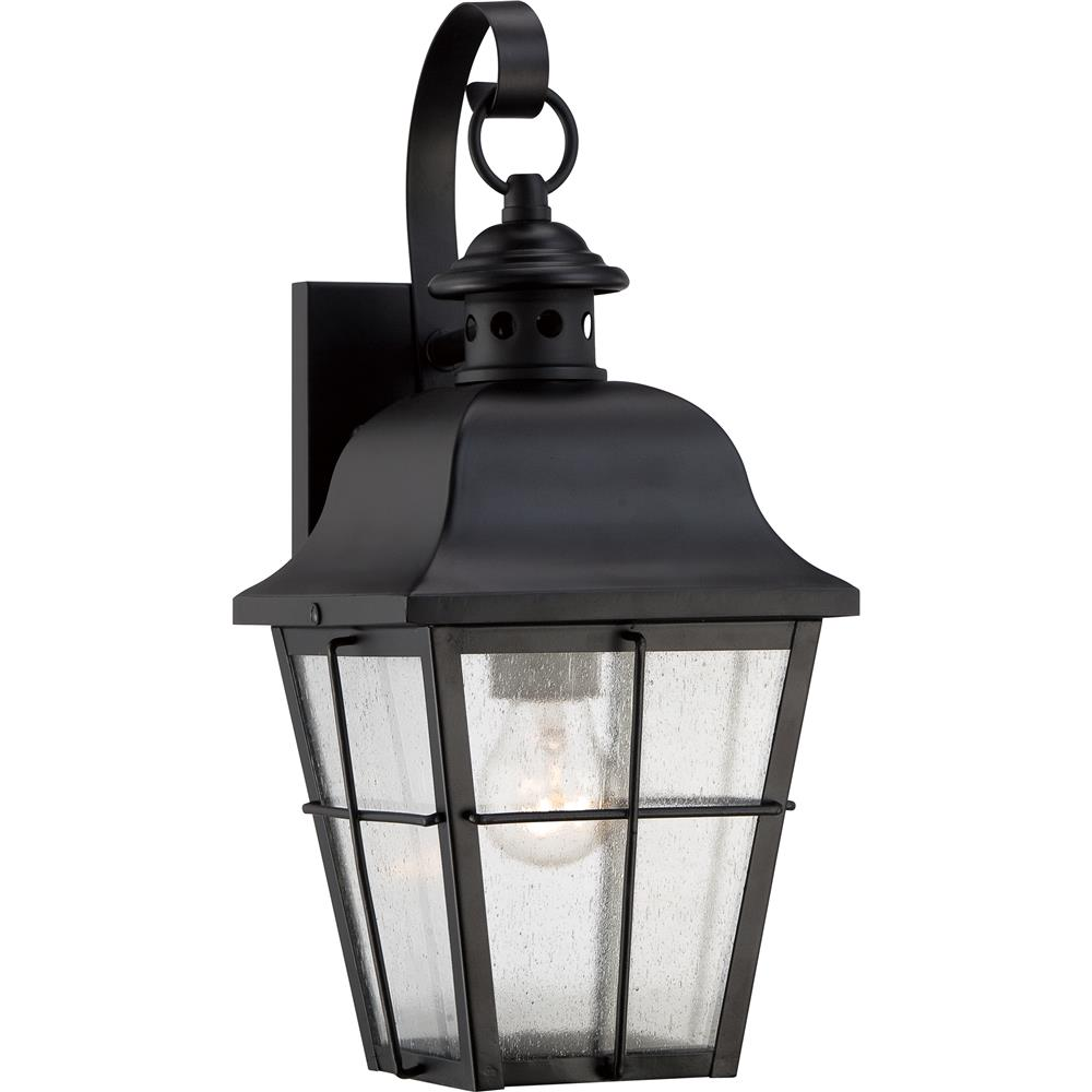 Quoizel Lighting MHE8406K Millhouse Outdoor Fixture in Mystic Black
