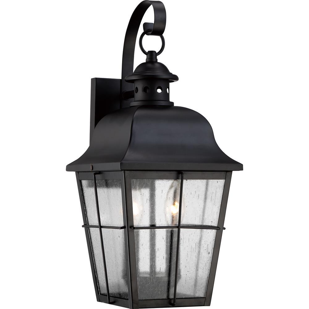 Quoizel Lighting MHE8409K Millhouse Outdoor Fixture in Mystic Black