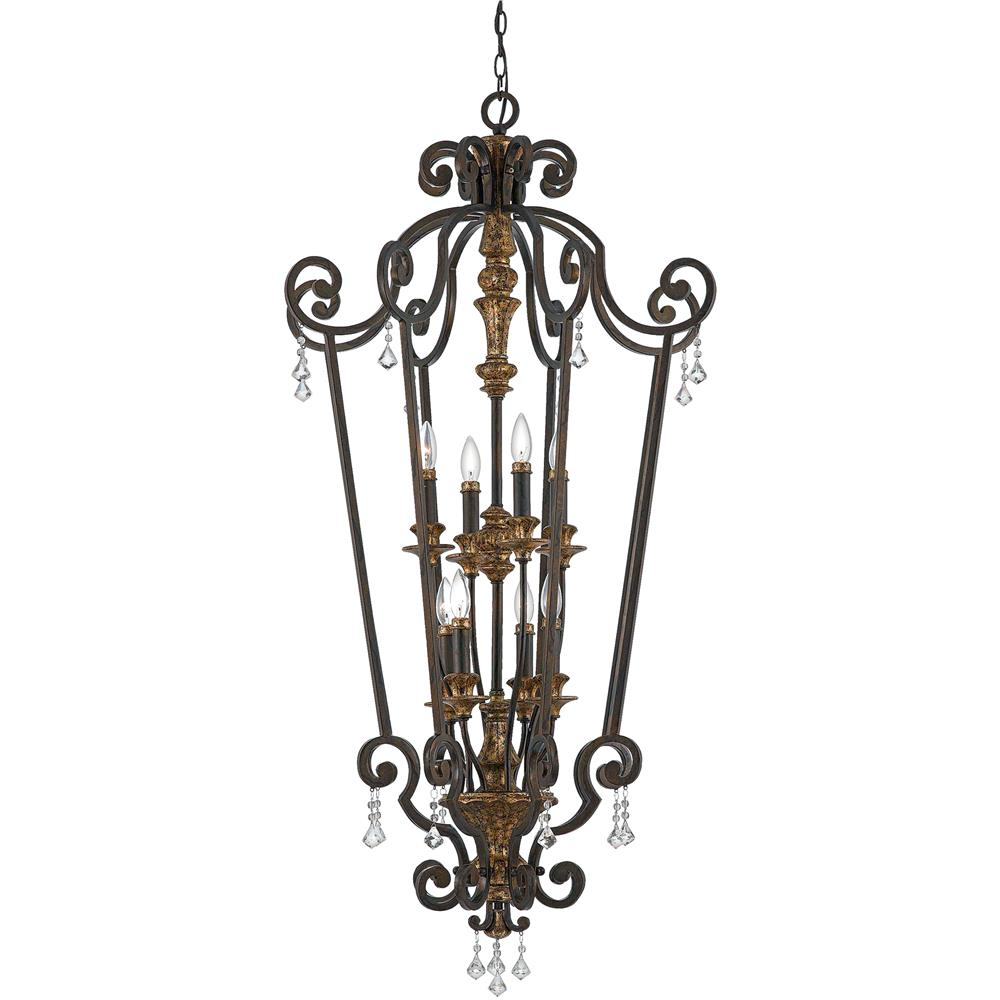 Quoizel Lighting MQ5208HL Marquette Chandelier in Heirloom