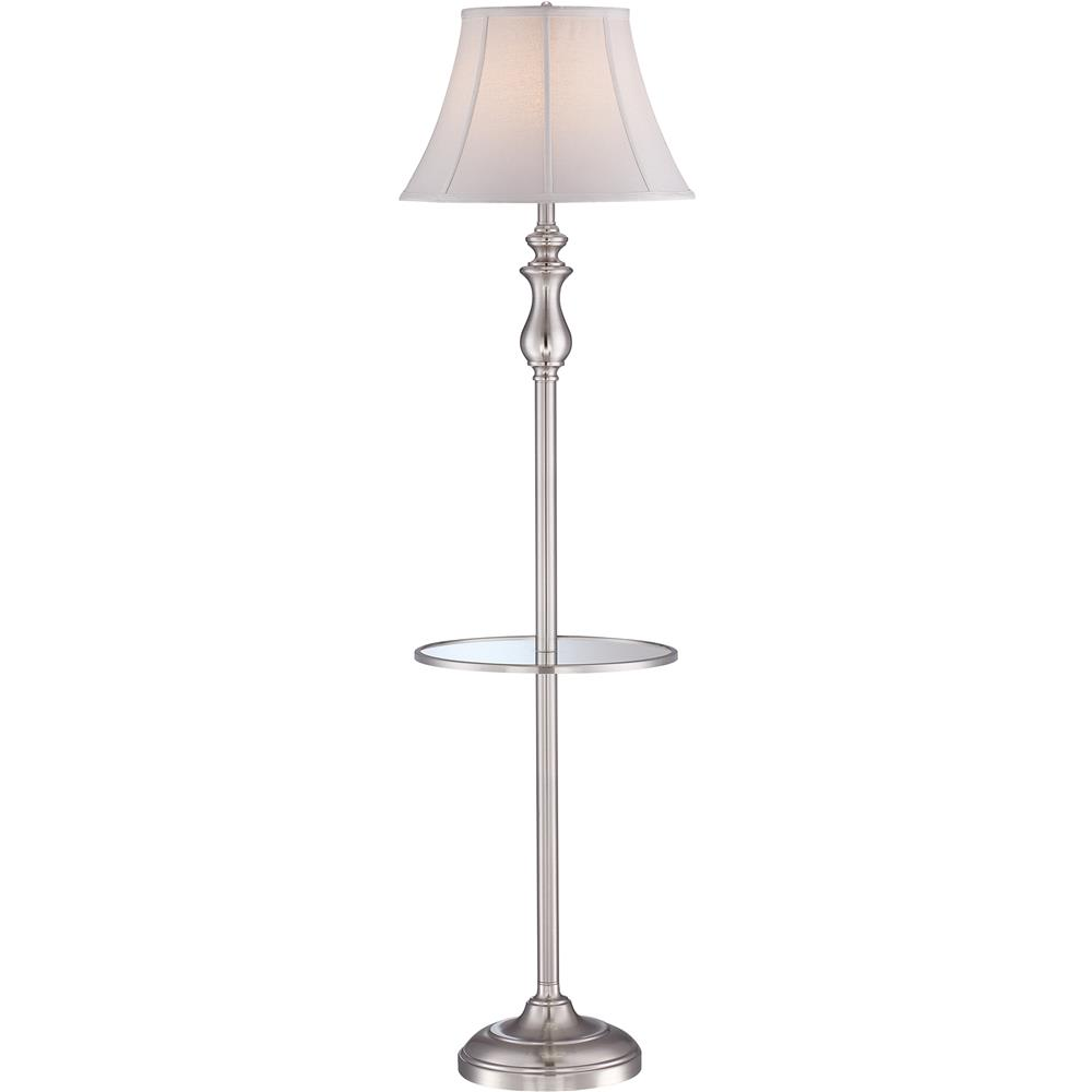 Quoizel Lighting Q1055FBN Stockton Floor Lamp in Brushed Nickel