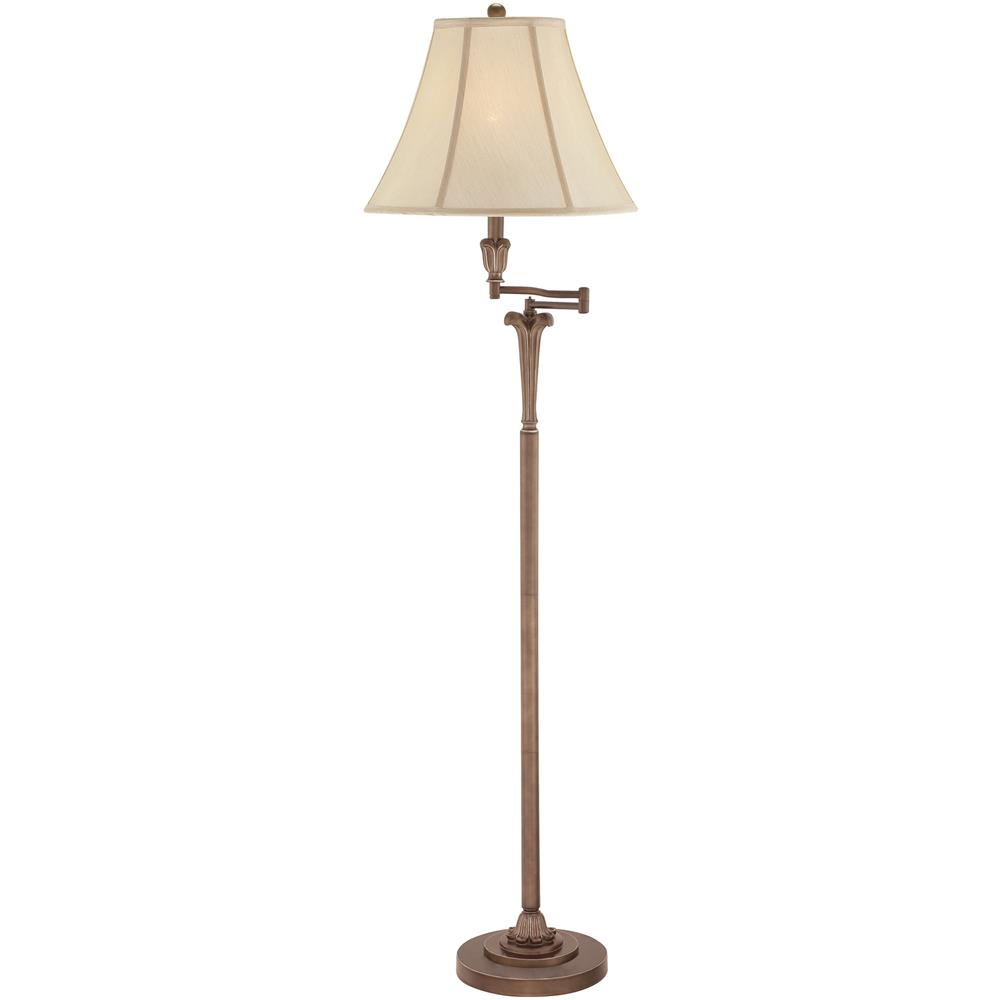 Quoizel Lighting Q1074FPN Archer Floor Lamp in Palladian Bronze