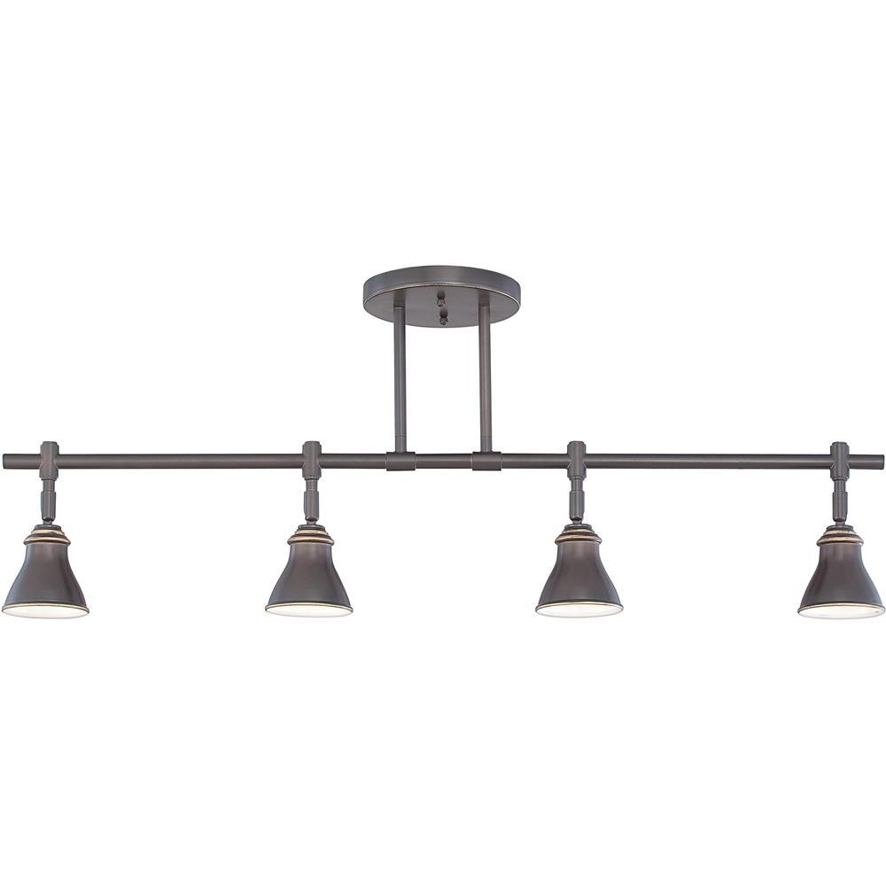 Quoizel Lighting QTR10054PN Quoizel Track Lights Ceiling Track Light in Palladian Bronze