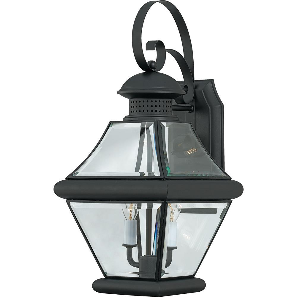 Quoizel Lighting RJ8409K Rutledge Outdoor Fixture in Mystic Black