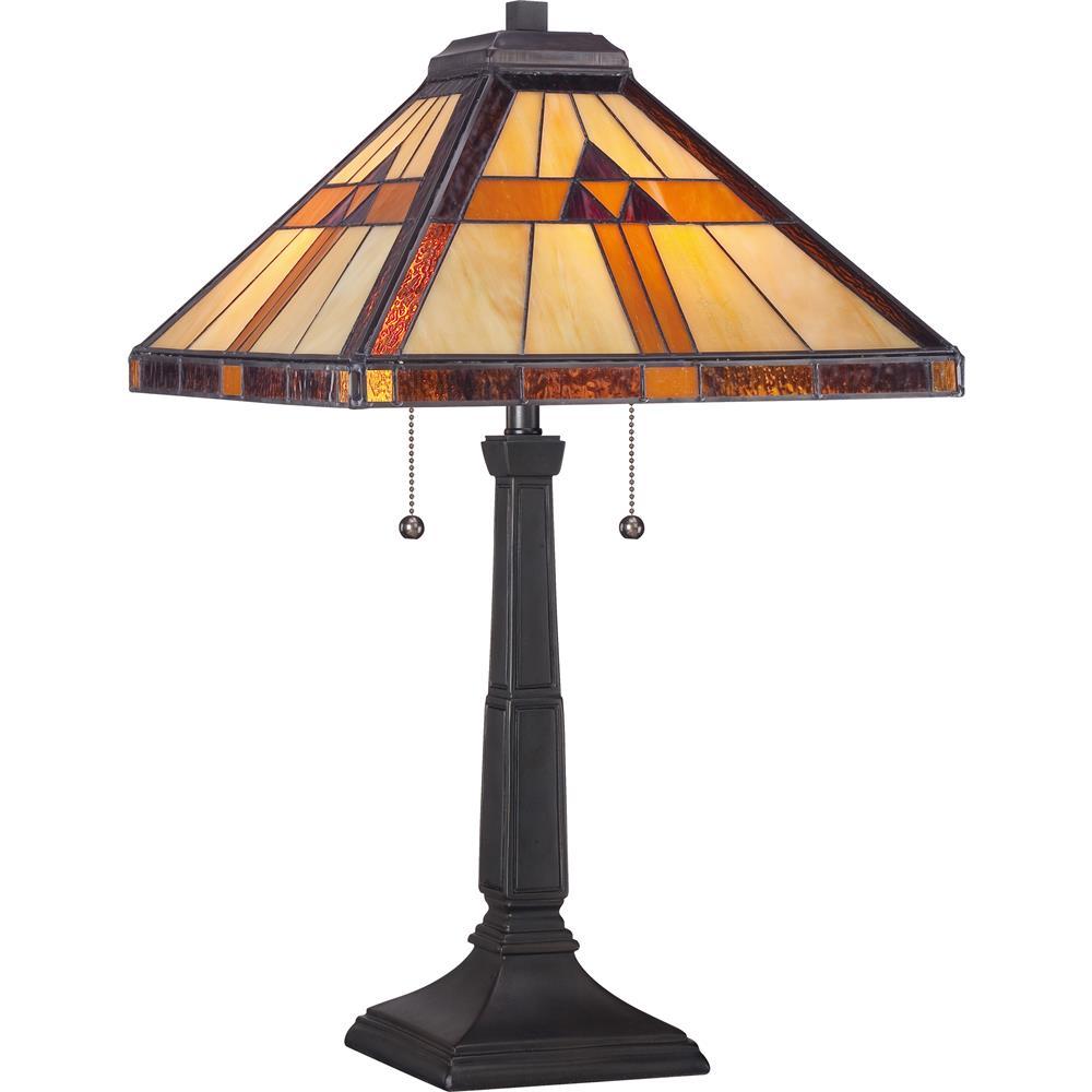 Quoizel Lighting TF1427T Bryant Tiffany Table Lamp