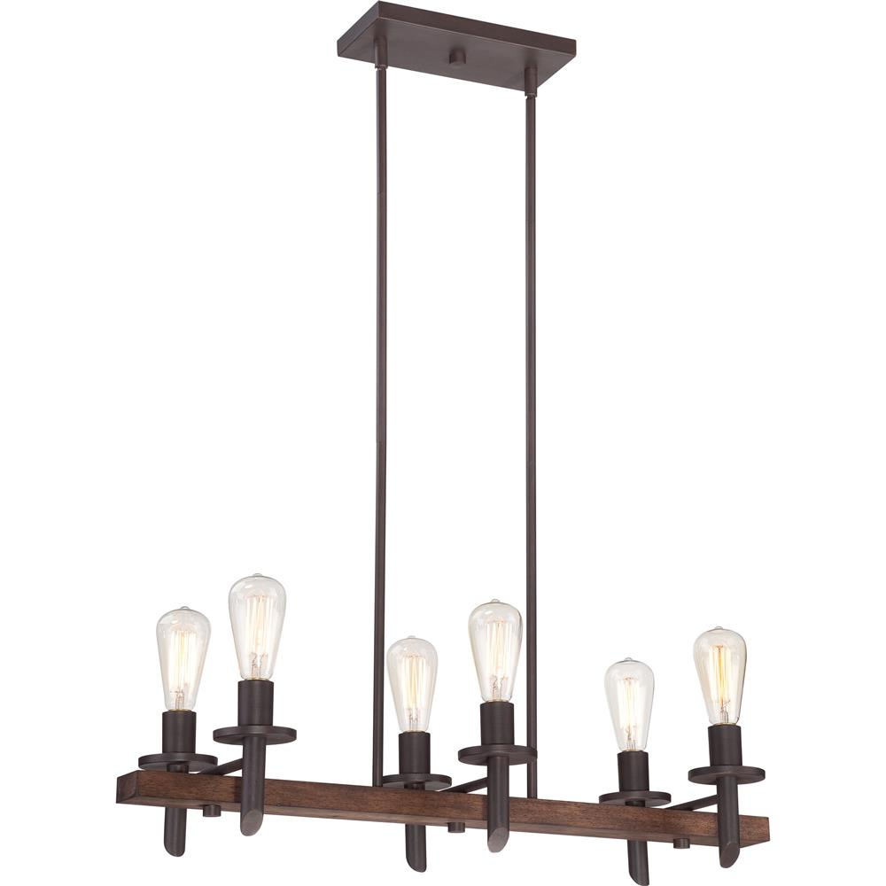 Quoizel Lighting TVN232DK Tavern Island Light in Darkest Bronze