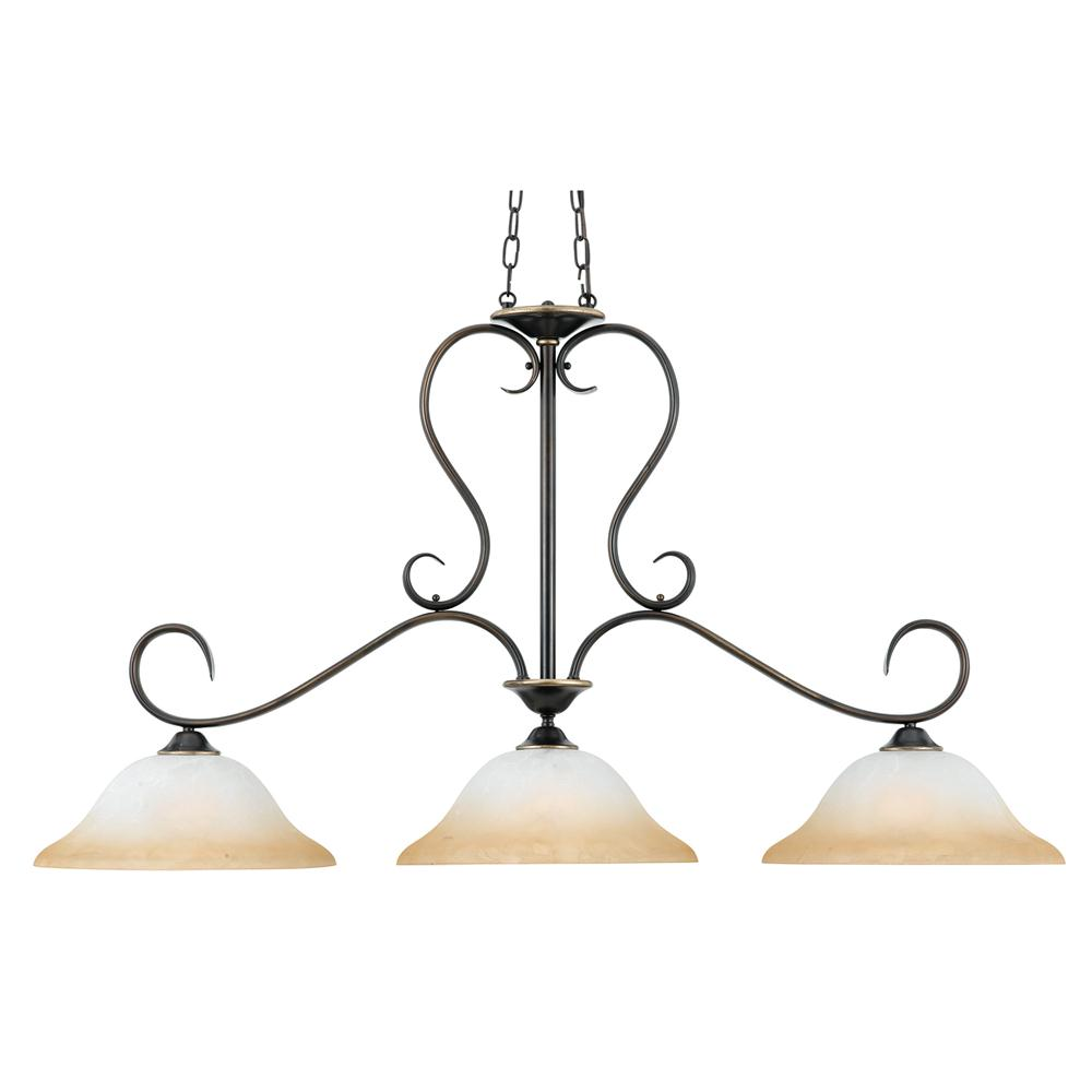 Quoizel Lighting DH348PN Duchess Island Light in Palladian Bronze