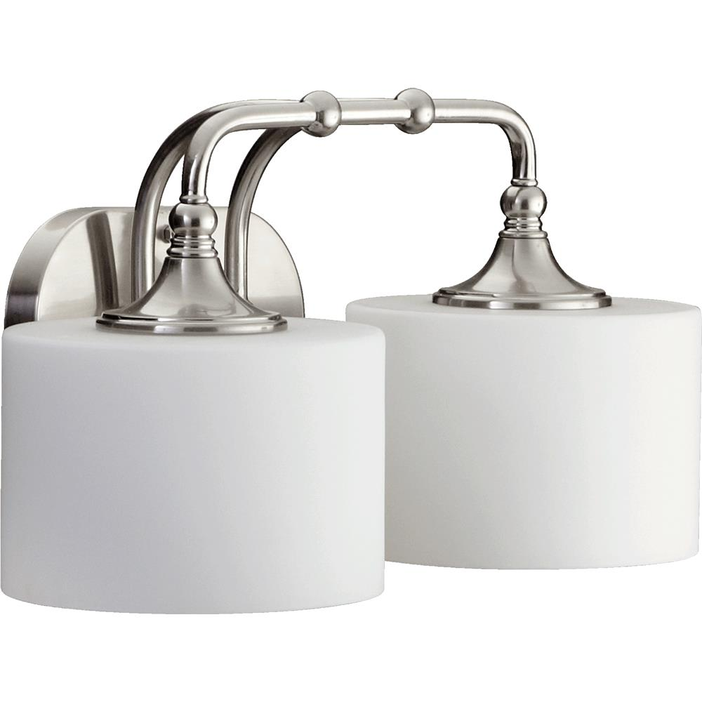 Should Vanity Lights Go Up Or Down : 5090-2-65 - Quorum International 5090-2-65 Rockwood Transitional 2 Light Down Lighting Vanity ...