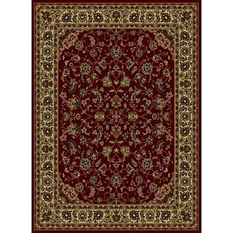 Radici USA 953/1310/BURGUNDY Castello Traditional Rectangular Rug in Burgundy - 3