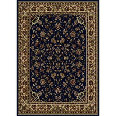 Radici USA 953/1340/NAVY Castello Traditional Rectangular Rug in Blue - 3