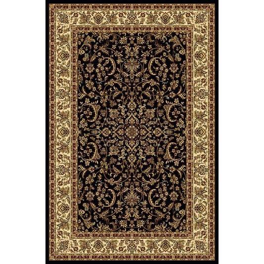 Radici USA 1318/1520/BLACK Noble Traditional Rectangular Rug in Black - 3