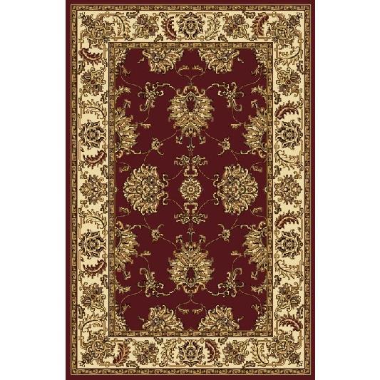 Radici USA 1330/1230/BURGUNDY Noble Traditional Rectangular Rug in Burgundy - 3
