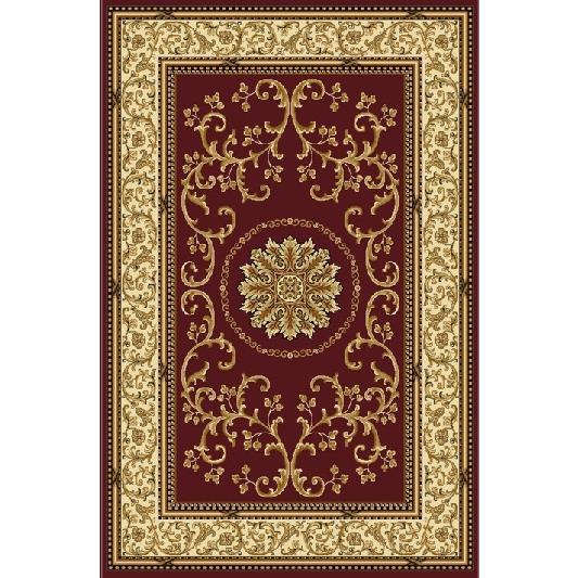 Radici USA 1419/1330/BURGUNDY Noble Traditional Rectangular Rug in Burgundy - 3