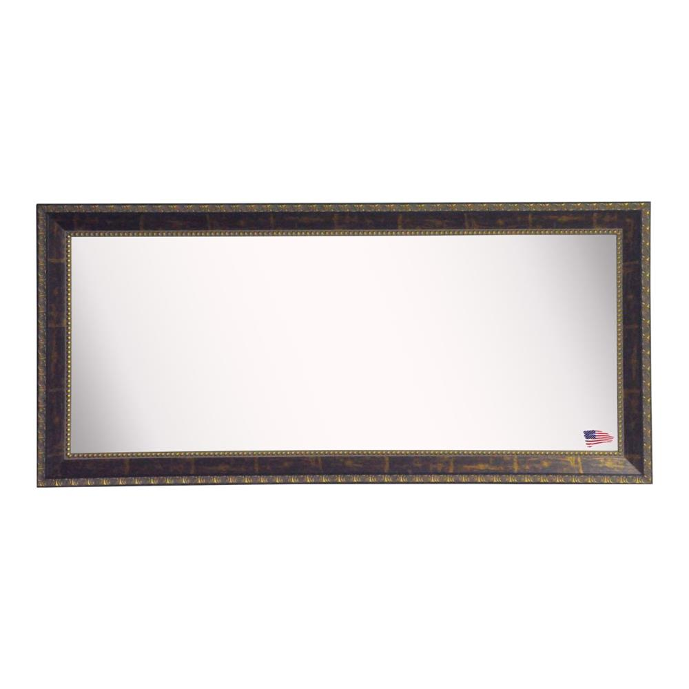 Rayne Mirrors DV041S American Made Rayne Tuscan Ivory Double Vanity Wall Mirror