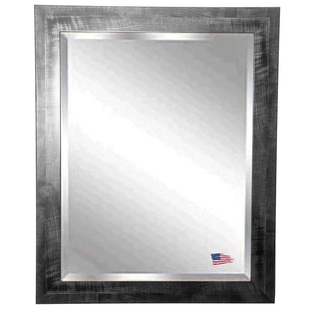 R045ml rayne mirrors r045ml jovie jane black smoke wall for Mirror 30 x 36