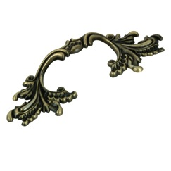 Richelieu Hardware BP36220AE Classic Metal Handle Pull - 362 in Antique English