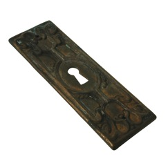 Richelieu Hardware BP44900AE Keyhole Plate in Antique English