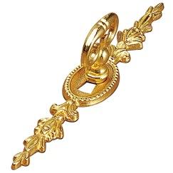 Richelieu Hardware 313213130 Keyhole Plate in Brass