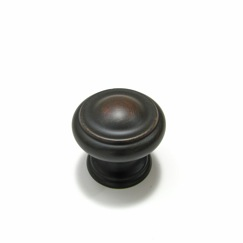 Richelieu Hardware BP8632BORB Classic Metal Knob - 863 in Brushed Oil-Rubbed Bronze